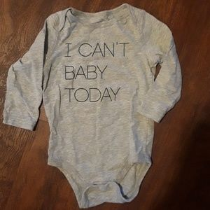 Other - Adorable Baby Neutral Onsie Size 12M